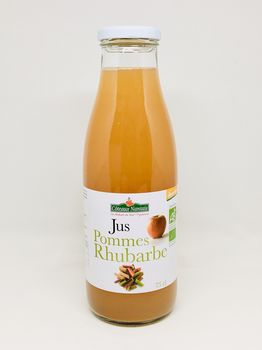 JUS POMME RHUBARBE