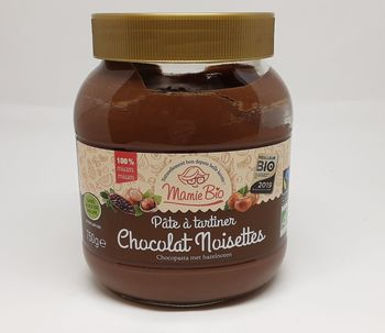 PÂTE A TARTINER NOISETTES & CACAO