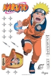 NARUTO STICKERS KING SIZE 93cm ABYSTYLE