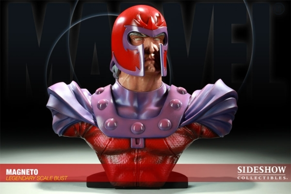 MAGNETO Legendary scale buste Sideshow X-men