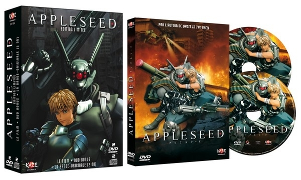 Appleseed - Edition 2009 dvd