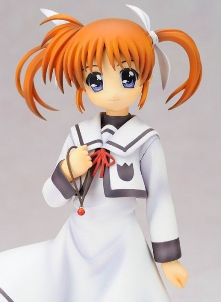 Magical girl Nanoha Takamachi School uniform Statue Alter
