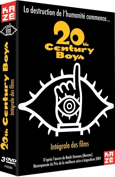 20th Century Boys - La trilogie - coffret 3 films dvd