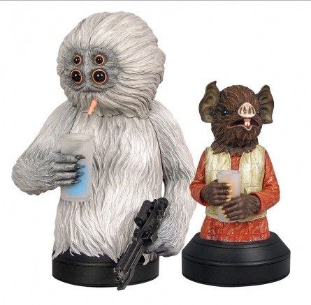 Kabe & Muftak 2-Pack Buste Gentle Giant Star Wars