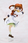 Magical Girl Lyrical Nanoha School Uniform Statue Kotobukiya
