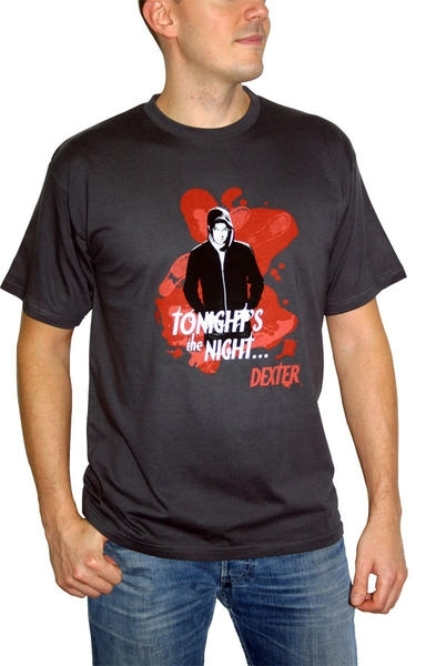 "DEXTER - T-shirt ""Tonight's the night"" homme"