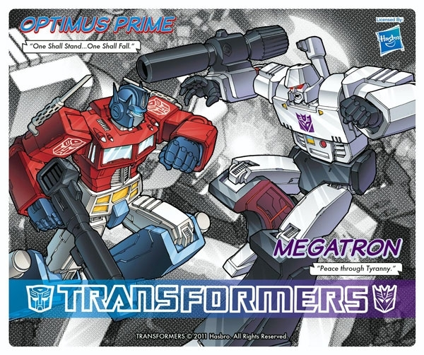 TRANSFORMERS - Tapis de souris - Optimus Prime vs Megatron Hasbro ABYstyle