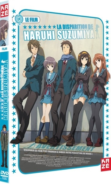 La disparition d'Haruhi Suzumiya - Le film - Edition Simple Dvd