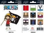 One Piece - Stickers - 16x11cm/ 2 planches - Luffy SD ABYstyle