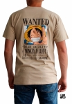 ONE PIECE - T-shirt Wanted Luffy sand ABYstyle