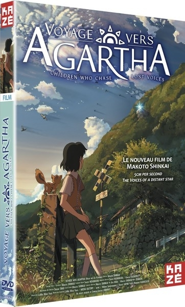 Voyage vers Agartha (Children who chase lost Voices) - Edition Simple dvd