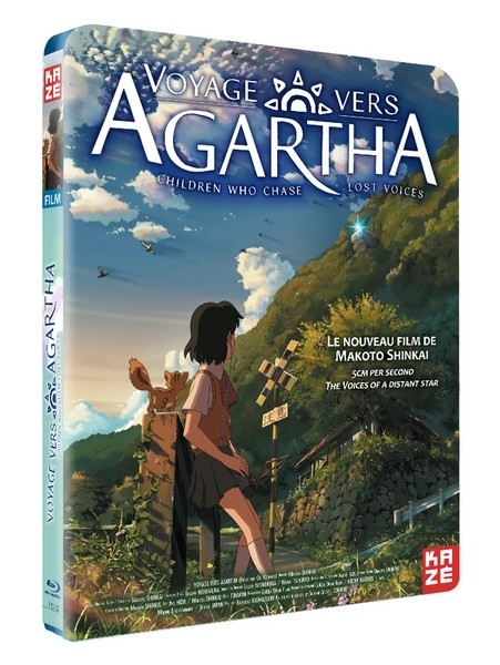 Voyage vers Agartha (Children who chase lost Voices) - Edition Simple Blu-ray