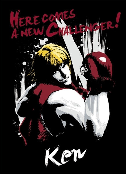 STREET FIGHTER - T-shirt Ken homme ABYstyle