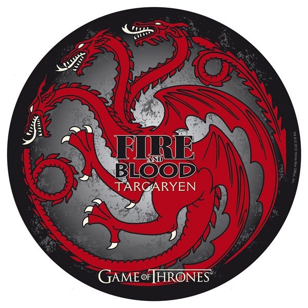 Game Of Thrones - Tapis De Souris - Targaryen Abystyle