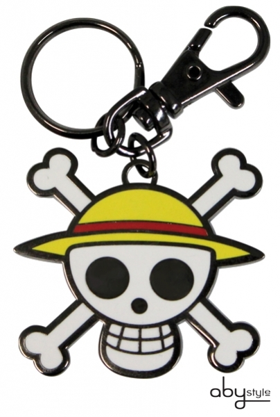 ONE PIECE - Porte-clés Skull - Luffy Abystyle