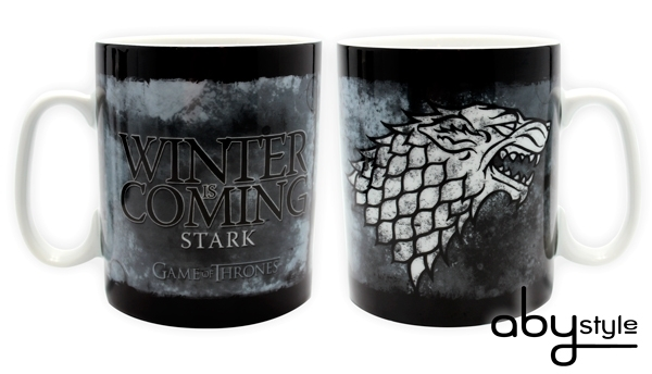 Game Of Thrones - Mug 460 ml - Stark - Porcelaine Abystyle