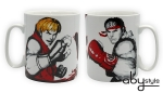 Street Fighter - Mug 460 ml – Ryu Vs Ken - porcelaine Abystyle