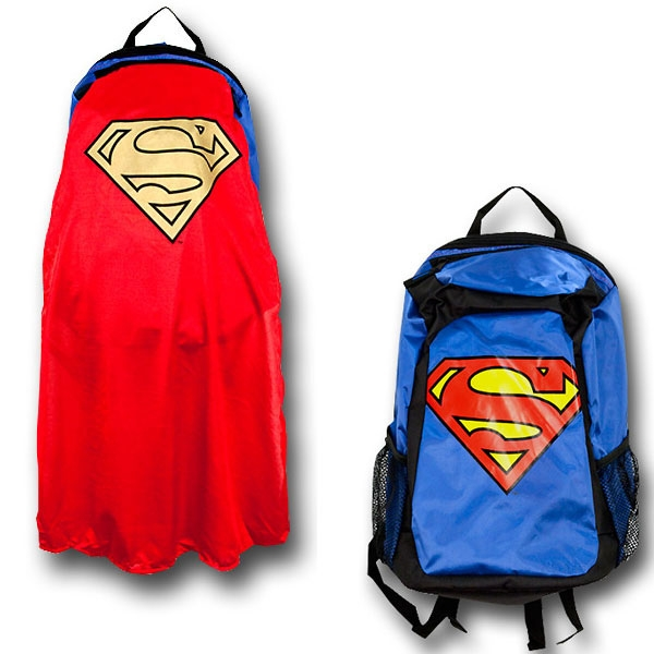 Superman Man of Steel - Sac à Dos avec Cape DC Comics Bioworld