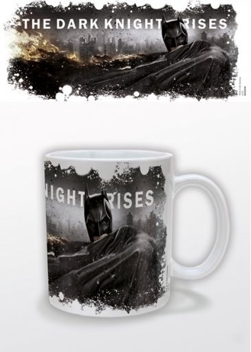 Batman The Dark Knight Rises mug Cityscape