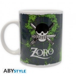 One Piece Mug 320 ml Zoro & Emblem Porcelaine Abystyle
