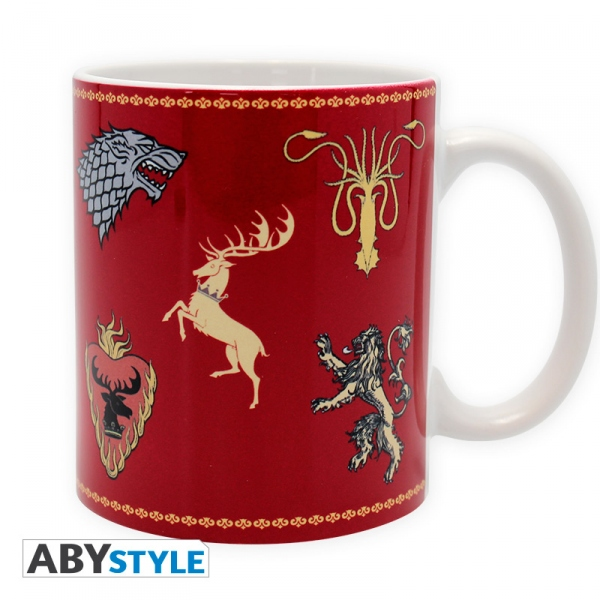 Game Of Thrones mug 320 ml Sigles Céramique Le trône de fer Abystyle