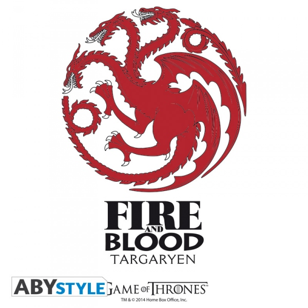 Game of Thrones verre Targaryen Abystyle