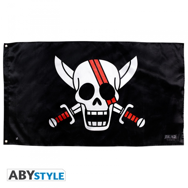 One Piece Drapeau Shanks 70x120 cm Abystyle