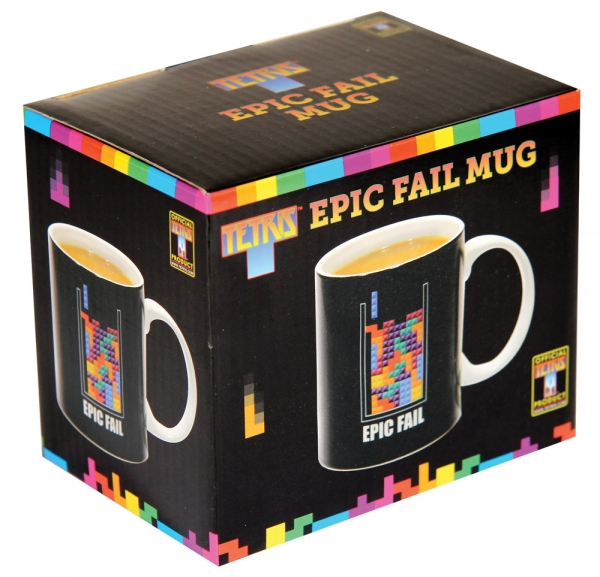 Tetris mug Epic Fail