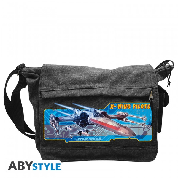Star Wars Sac Besace Vaisseaux X-Wing Pilote Grand Format Abystyle