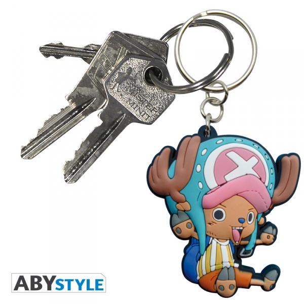 One Piece Porte-clés pvc Chopper SD Abystyle