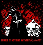 T-Shirt Power is nothing without rabbits LapinouWear