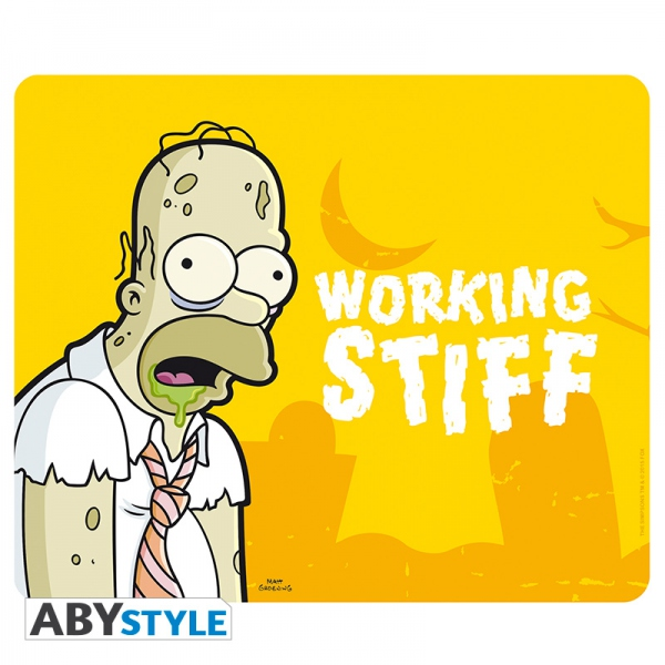 The Simpsons Tapis De Souris Homer Zombie Abystyle