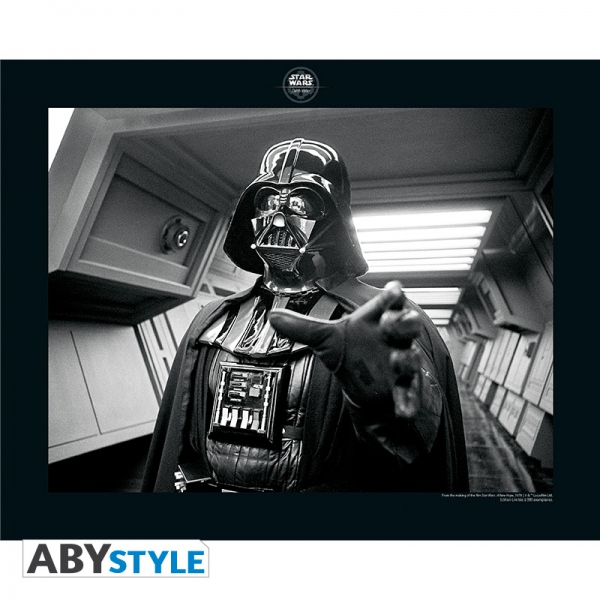 Star Wars Collector Artprint Excuses acceptées Darth Vader 50x40 cm Abystyle