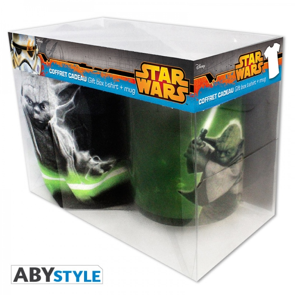 Star Wars Pack Yoda mug + T-shirt Abystyle