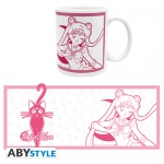 Sailor Moon Mug 320 ml Sailor Moon & Luna Céramique Abystyle