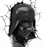 Star Wars - Lampe Décorative 3D Darth Vader