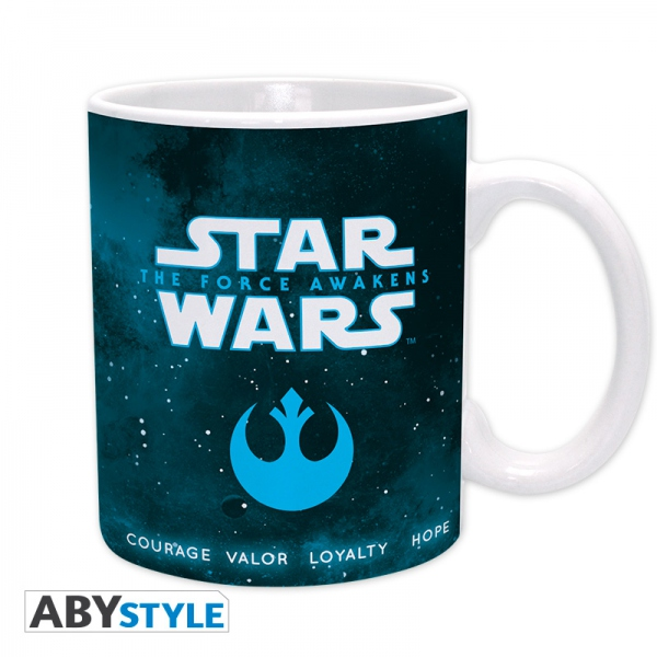 Star Wars Episode 7 mug 320 ml Rey, Finn & Chewie Abystyle