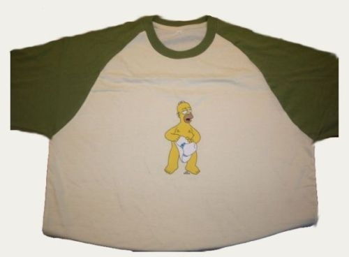 T-shirt SIMPSONS : HOMER COW-BOY EN STOCK
