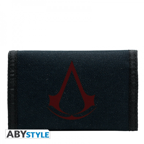 Assassin's Creed Portefeuille Assassin Crest navy Abystyle