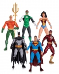 Justice League pack 6 figurines Alex Ross DC Collectibles
