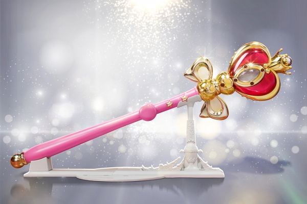 Sailor Moon Sceptre Spiral Heart Moon Rod Bandai