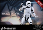 "Star Wars Episode VII figurine MMS First Order Stormtrooper Squad Leader Exclusive 12"" Hot Toys"