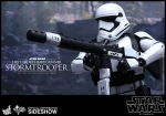"Star Wars Episode VII figurine Movie Masterpiece First Order Heavy Gunner Stormtrooper 12"" Hot Toys"