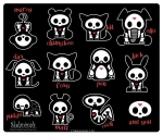 SKELANIMALS - Tapis de souris Family Portrait EN STOCK
