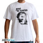 The Walking Dead T-shirt Hunt Or Be Hunted Rick Grimes Abystyle