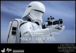 "Star Wars Episode VII figurine Movie Masterpiece First Order Snowtrooper 12"" Hot Toys"