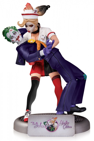 DC Comics Bombshells statue The Joker & Harley Quinn 2nd Ed DC Collectibles
