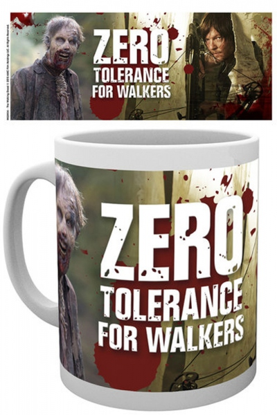 The walking dead Daryl zero tolerance mug