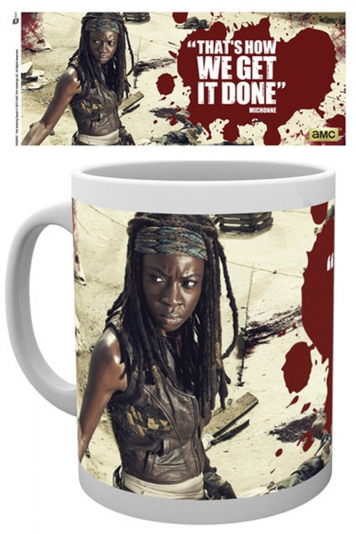 The walking dead Michonne mug