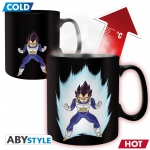 Dragon Ball Z Mug Heat Change 460 ml Vegeta - Avec Boîte Abystyle DBZ